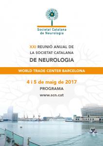 Portada programa XXI Reunió Anual SCN 2017