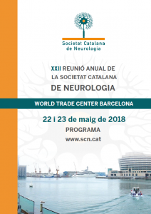 Portada programa XXII Reunió Anual SCN 2018