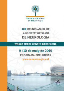 Portada programa XXIII Reunió Anual SCN 2019