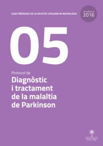 Imatge portada Actualització Guia Mèdica Parkinson 2016 de la Societat Catalana de Neurologia