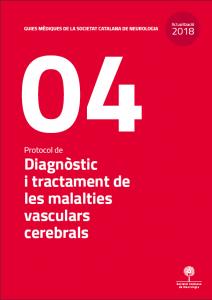 Imatge portada Actualització Guia Mèdica Vascular 2018 de la Societat Catalana de Neurologia