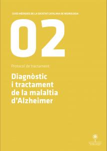 Imatge portada Guia Mèdica Alzheimer 2011 de la Societat Catalana de Neurologia