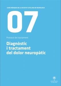 Imatge portada Guia Mèdica Dolor Neuropàtic 2011 de la Societat Catalana de Neurologia