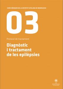 Imatge portada Guia Mèdica Epilèpsia 2011 de la Societat Catalana de Neurologia