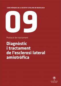 Imatge portada Guia Mèdica Esclerosi Lateral Amiotròfica 2011 de la Societat Catalana de Neurologia