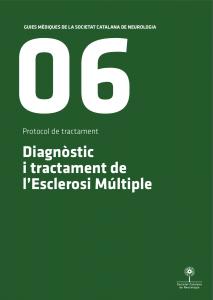 Imatge portada Guia Mèdica Esclerosi Múltiple 2011 de la Societat Catalana de Neurologia