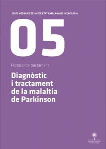 Imatge portada Guia Mèdica Parkinson 2011 de la Societat Catalana de Neurologia