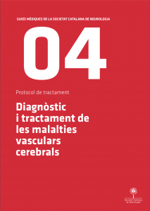 Imatge portada Guia Mèdica Vascular 2011 de la Societat Catalana de Neurologia