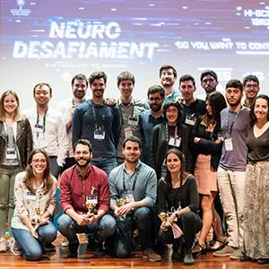 Grup Estudi Residents SCN_Guanyadors i participants Neurodesafiament_XXIII Reunió Anual SCN 2019