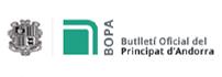 Logo Butlletí Oficial Principat d'Andorra
