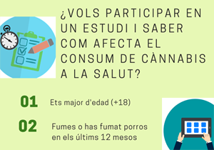 Estudi sobre el consum de cànnabis amb relació a la salut