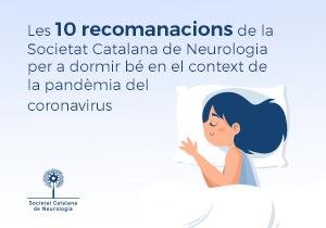Les 10 recomanacions de la Societat Catalana de Neurologia per a dormir bé en el context de la pandèmia del coronavirus
