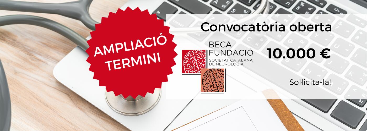 Ampliació termini convocatòria BECA FSCN 2020