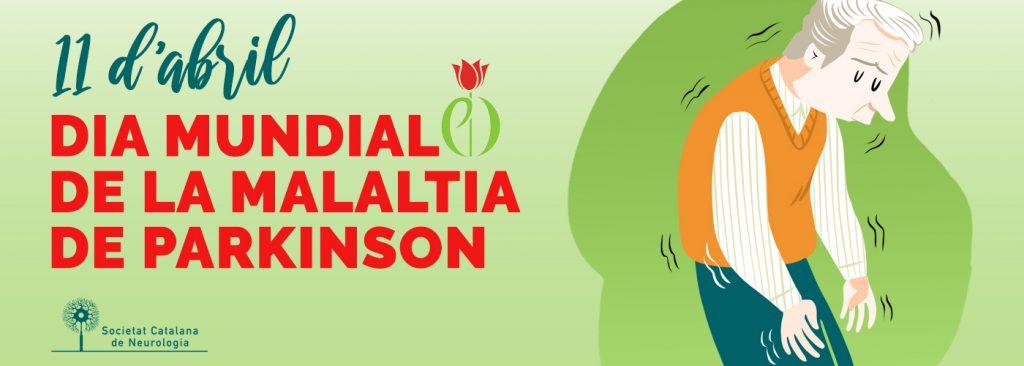 Banner Dia Mundial del Parkinson - Societat Catalana de Neurologia - 11 abril