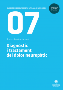 Portada Guia Dolor Neuropàtic_Societat Catalana de Neurologia 2020