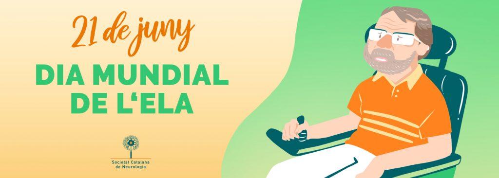 Banner Dia Mundial de l'ELA - 21 de juny 2020 - Societat Catalana de Neurologia
