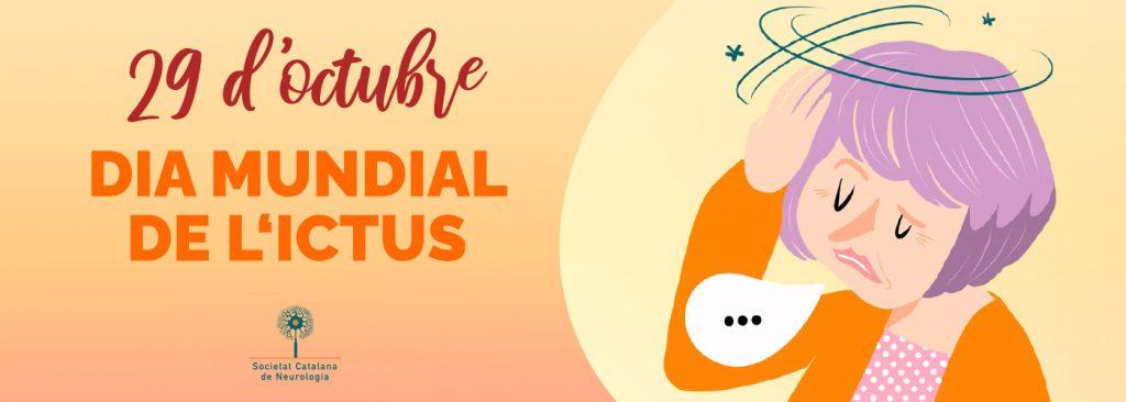 Banner Dia Mundial Ictus - 29 octubre 2020 - Societat Catalana de Neurologia