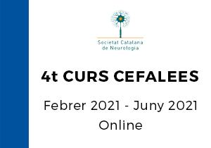4t Curs d'especialització en Cefalees de l'SCN