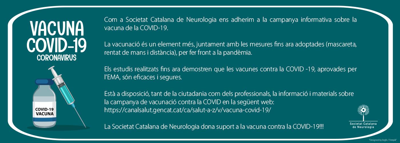 Ens adherim a la campanya informativa sobre la vacuna de la COVID-19!