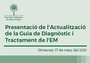 Presentació de l'Actualització de la Guia de Diagnòstic i Tractament de l'EM