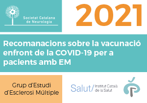 Recomanacions sobre la vacunació enfront de la COVID-19 per a pacients amb EM