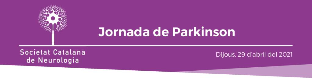 Capçalera Jornada Parkinson - 29 abril 2021