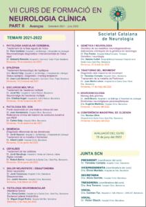 IMATGE PROGRAMA VII CURS NEURO_AVENÇOS - 2021-2022-1