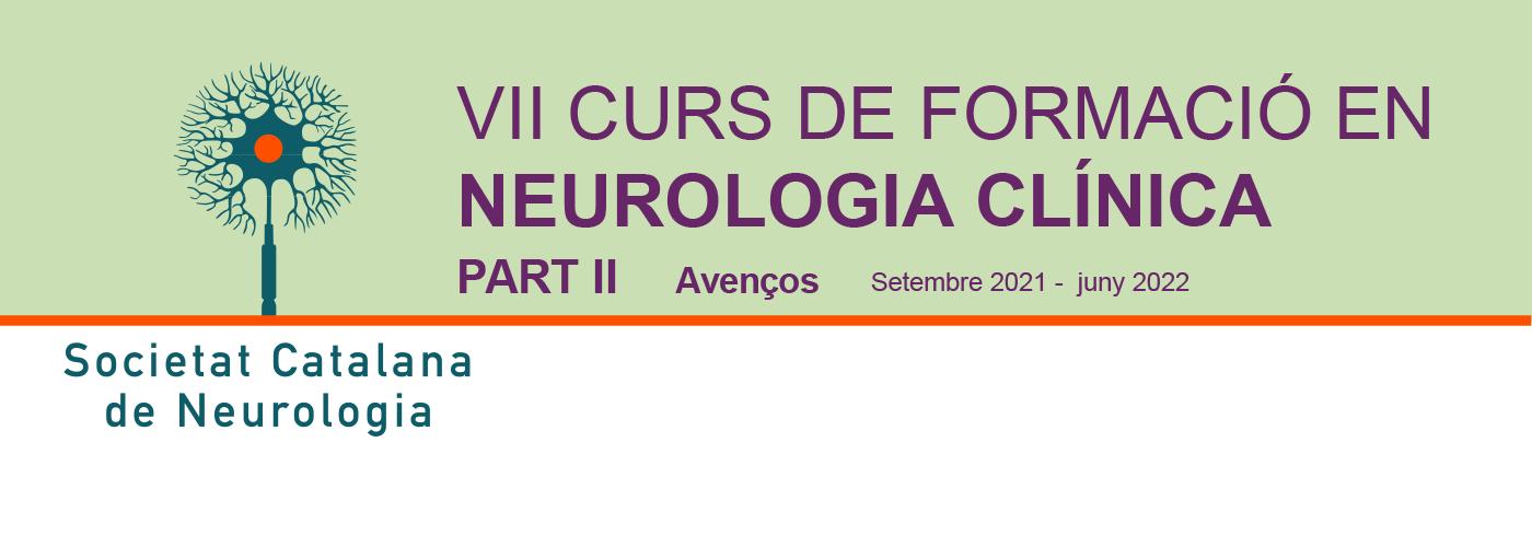 No et quedis sense plaça! Inscriu-te ja al VII Curs de Formació de l'SCN i aprofunditza en la neurologia!